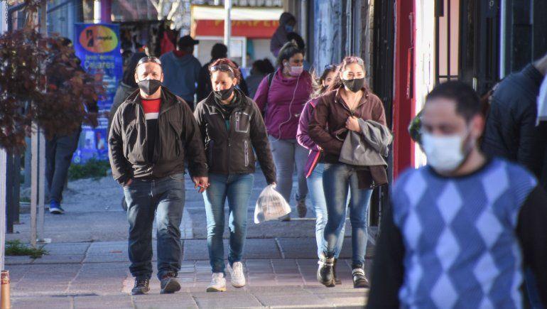 La baja de los contagios es notable en la provincia de Neuquén en estos días.