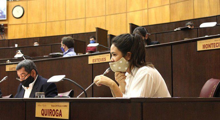 La diputada Ayelen Quiroga impulsa el proyecto para garantizar el aislamiento