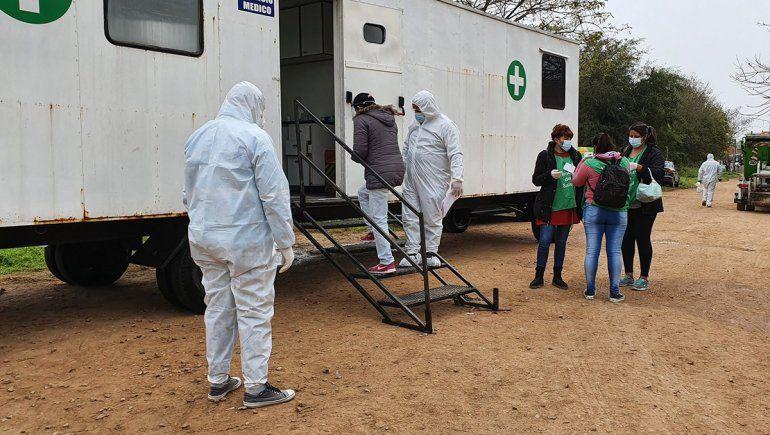 Récord de muertes en el país por coronavirus: se registraron 25 en un día