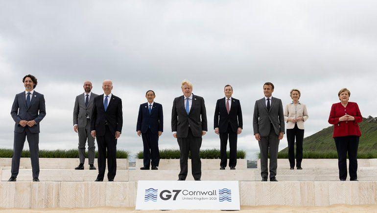 El G7 donará mil millones de vacunas