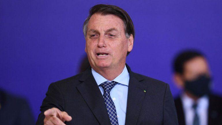 Bolsonaro habló de la Amazonia y contra indígenas