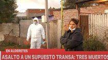 una entradera termino con tres muertos en tucuman