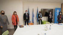 gutierrez se reunio con unicef para dotar de internet a escuelas rurales