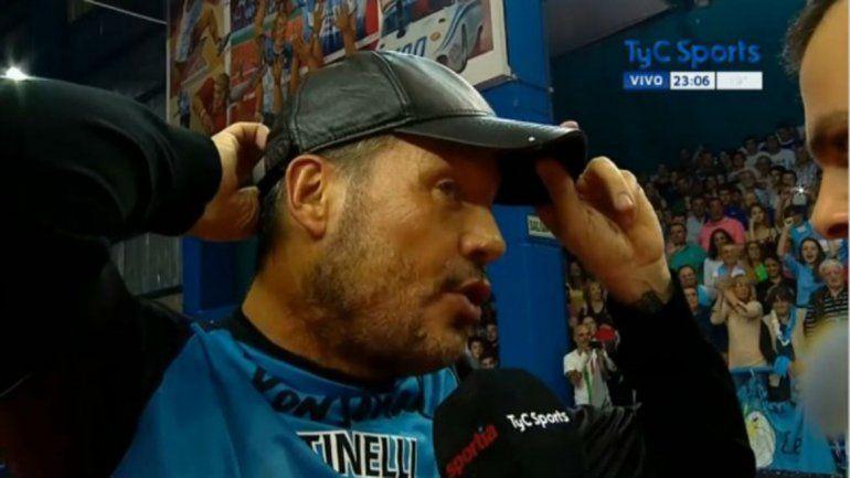 Tinelli anunció su vuelta a San Lorenzo: Siento que estoy mejor