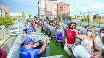 El bus turístico recorre los hitos más importantes de la capital.