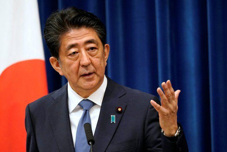 El primer ministro de Japón