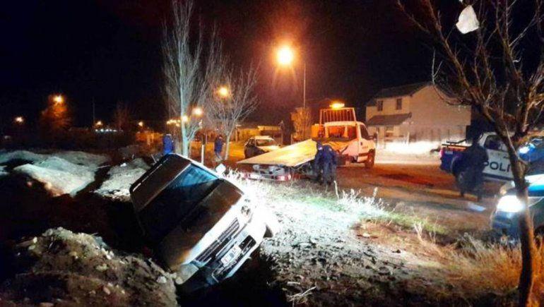 El alcohol hizo estragos en San Martín: tres vuelcos en una noche