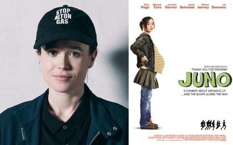 Page gano fama por su notable actuación en la película Juno.