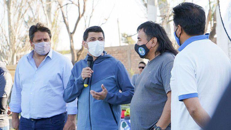 Aporte de la Legislatura para obras en el club Eucalipto Blanco del Limay