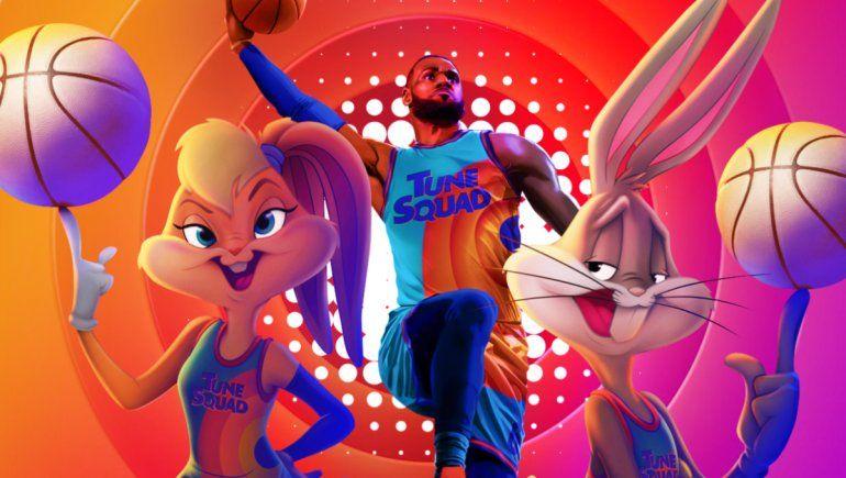 HBO Max: Space Jam 2 presentó tráiler final con LeBron James y Bugs Bunny.