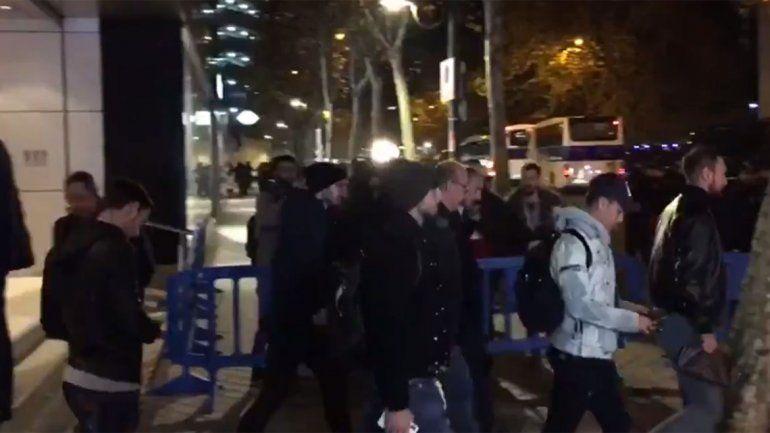 Bochorno: rebotaron a Dybala en el palco del Santiago Bernabéu