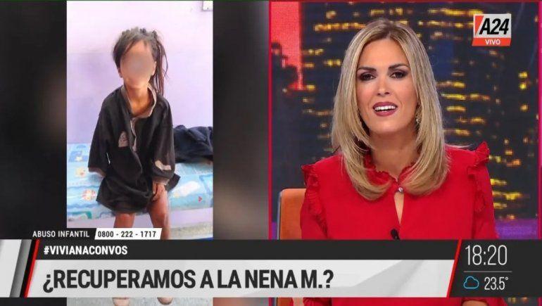 Canosa aseguró que M. fue abusada desde que empezó su miserable vida