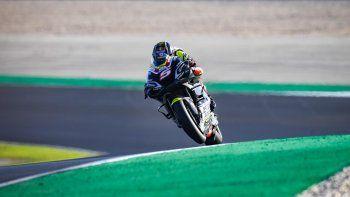 Johann Zarco terminó como el más rápido en el primer día de acción para el MotoGP en el Gran Premio de Portugal.