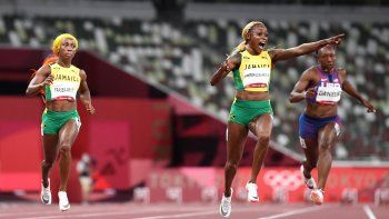Histórico: Elaine Thompson ganó el oro con récord mundial en 100 metros llanos