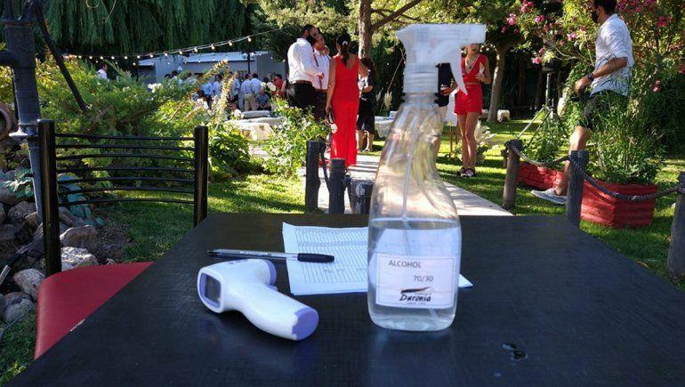 En Cipo vuelven los casamientos y cumpleaños con protocolos