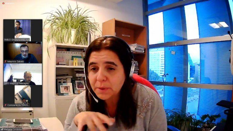 La fiscal Mariana Córdoba impulsó la acusación contra el delincuente por tres de los hechos delictivos.