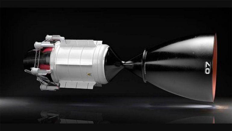 Desarrollan un motor nuclear que podría transportar humanos a Marte