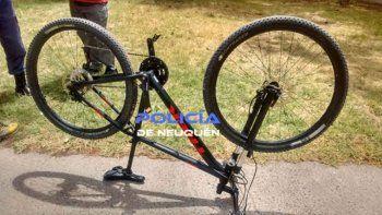 el robo de bicicletas, el delito sin restricciones en la ciudad