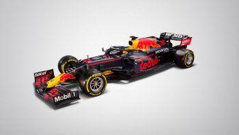 Red Bull dio a conocer el auto con el que estarán presentes este 2021 en la Fórmula 1. Sus pilotos serán Max Verstappen y Sergio Pérez.