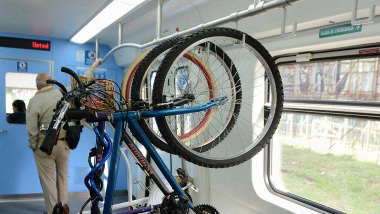 El Tren del Valle urbano se viene con un vagón para bicicletas