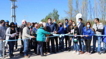 Gaido inauguró junto a Gutiérrez las obras de apertura de la calle Saavedra