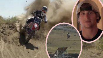 imagenes sensibles: el tragico salto de la muerte de alex harvill