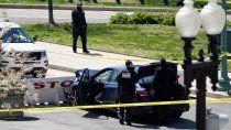 un ataque vehicular en el capitolio dejo dos muertos
