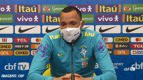 arquero brasileno lloro de emocion en plena conferencia