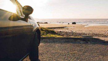 Twitter: niña de 9 años tomó el auto de sus padres para ir a la playa. | F