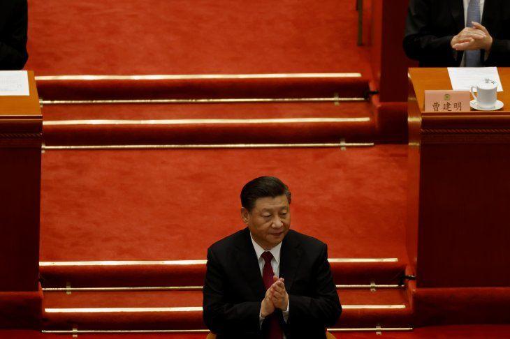 Imagen de archivo del presidente de China