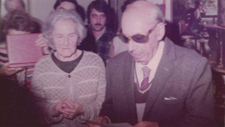 Castro Rendón y su esposa Emilia Cattáneo.