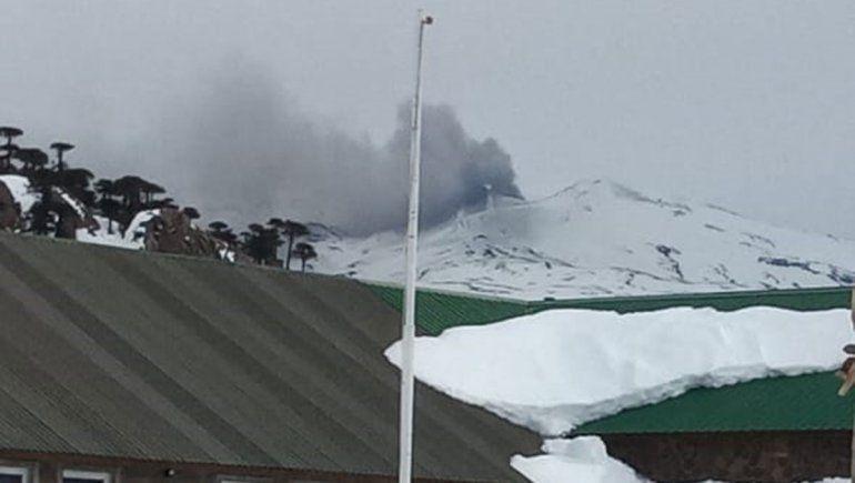 La ceniza que emitió el volcán Copahue y llamó la atención de todos