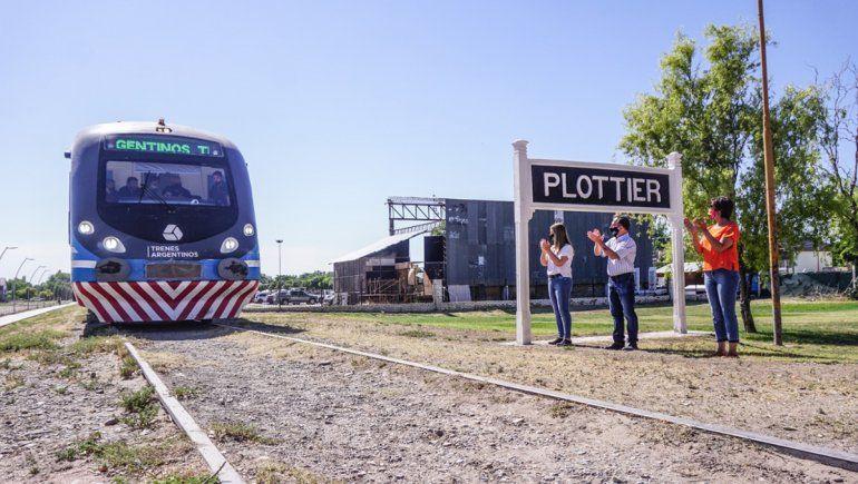 Cuáles serán los horarios del Tren del Valle a Plottier