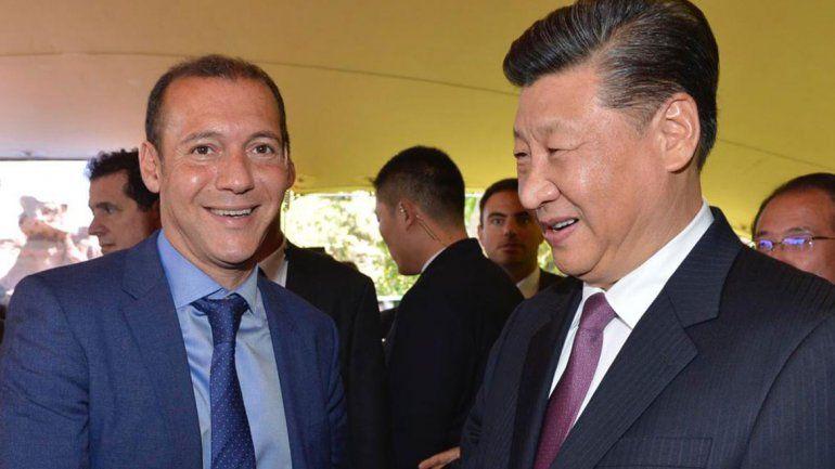 China y Neuquén firmaron acuerdos de conectividad y electricidad