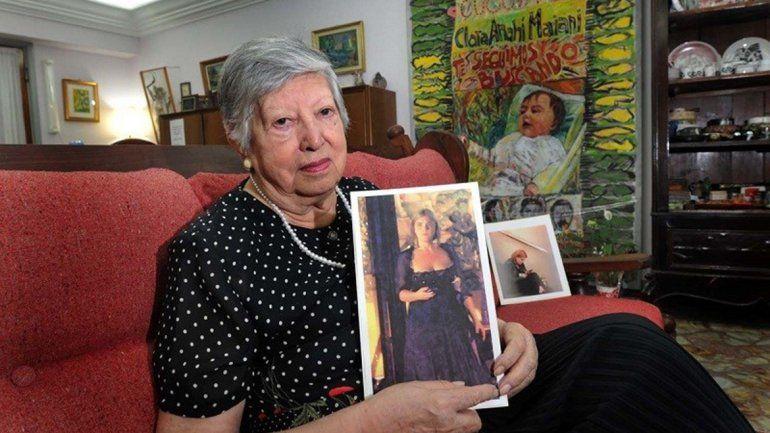 A los 95 años, murió una de las fundadoras de Abuelas de Plaza de Mayo