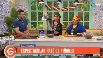 La cocina mapuche dijo presente en la TV pública