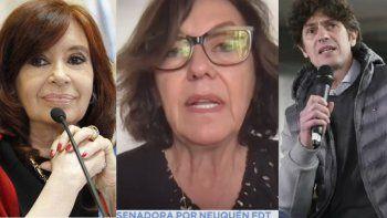 La emoción de Cristina por la respuesta de Silvia Sapag a Lousteau