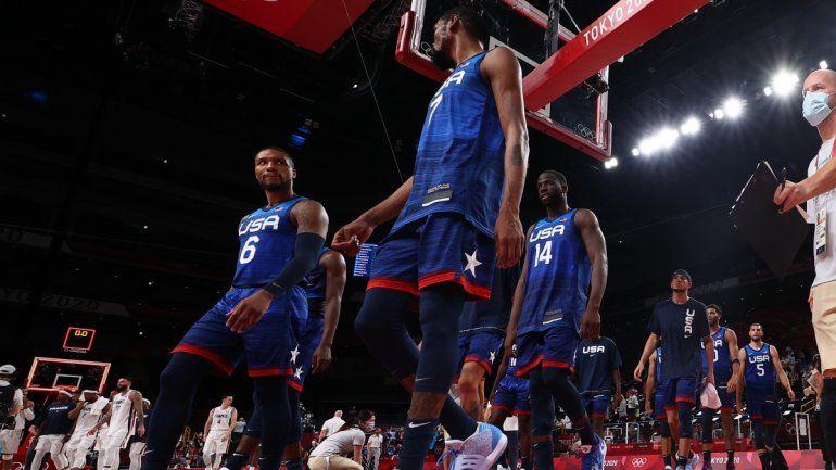 Francia venció al Dream Team: no perdían desde la derrota ante la Generación Dorada