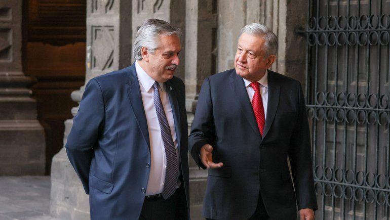 Alberto Fernández se encontró con Manuel López Obrador