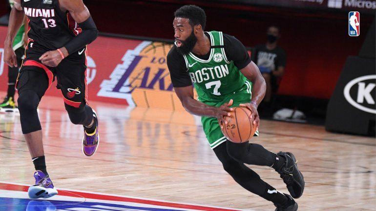 Los Celtics recuperaron la memoria y descontaron la serie ante Miami