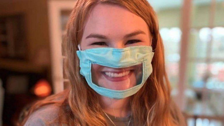 Diseñan tapabocas transparentes para no excluir a personas sordas e hipoacúsicas