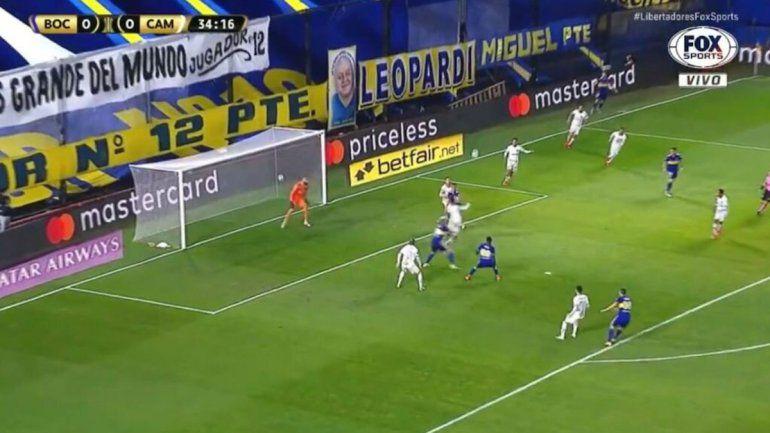 Polémica: el VAR le anuló mal un gol a Boca que empató y se complicó