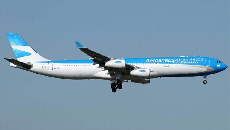 Aerolíneas Argentinas suspende más vuelos a Roma, Madrid, Nueva York, Miami y Orlando
