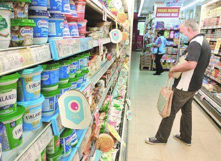 El rubro que más aumentó fue el de productos de almacén.