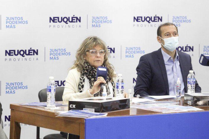 La ministra Storioni y el gobernador Gutiérrez adelantaron el regreso pleno de las clases.