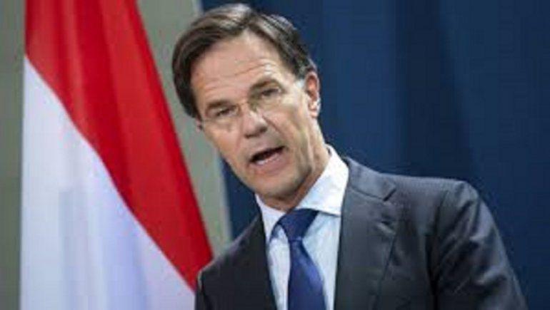 Mark Rutte, primero ministro de Holanda.