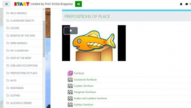 Start es una plataforma neuquina que permite tomar clases de inglés a través de Internet.