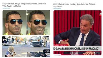 ¡Morbosos! Los memes por la grave sanción de Conmebol a Boca