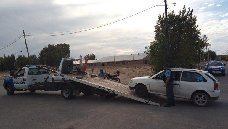 La Policía secuestró el auto desde donde se habría salido el tiro que impactó en el ojo de la víctima.