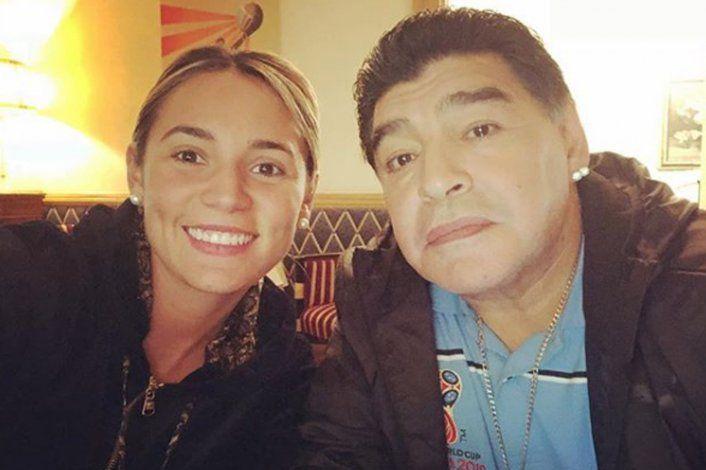 Rocío Oliva acusada de usar una tarjeta de Diego Maradona después de su muerte
